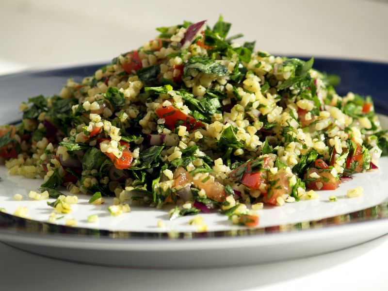 Tabouli with Metromint